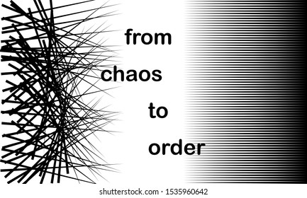 Chaos Order Abstract Images, Stock Photos & Vectors | Shutterstock