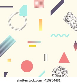Chaotic geometry background. Minimal futuristic design. Suitable for posters,covers,prints etc.
