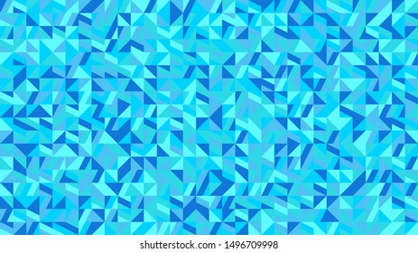 Chaotic mosaic pattern hd background - colorful polygonal vector graphic