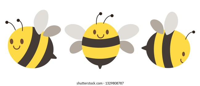 character bee set