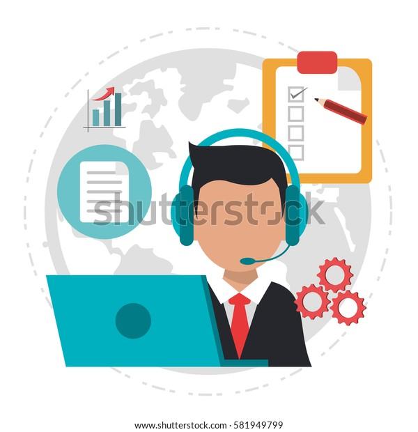 character call center logistics service