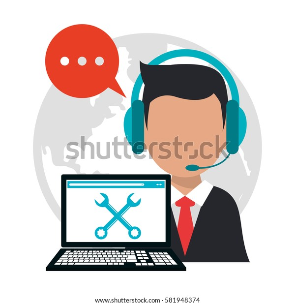 character call center professional work