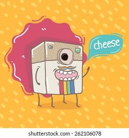 Character camera doddle