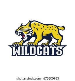 Character of lynx roar wildcats