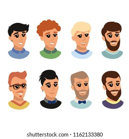 Model With Different Hairstyles Images, Stock Photos & Vectors