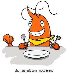 character shrimp