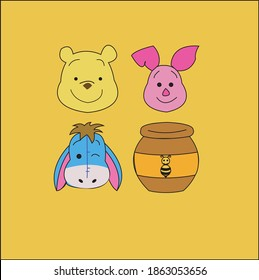 Characters in Winnie The Pooh