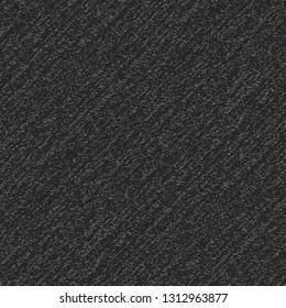 Charcoal Melange Textured Background. Seamless Pattern.