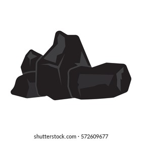 charcoal vector illustration