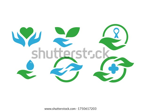Charity, Non-profit, Medical, Organization Icon Vector Template