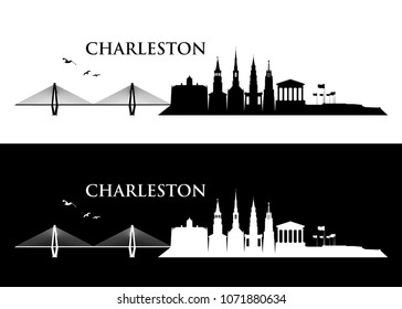 Charleston skyline - United States of America - USA - South Carolina