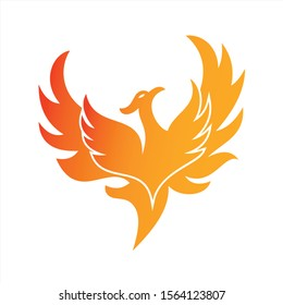 Charming phoenix illustrations for icons or logos
