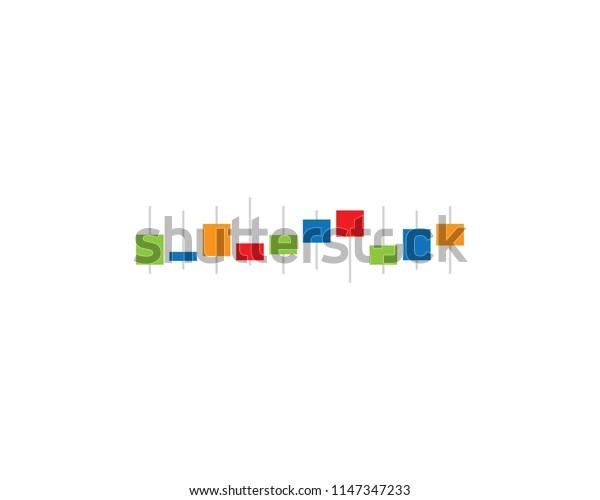 Chart forex symbol illustration