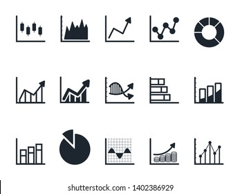 Chart and Graph icon set,Pie chart icon.