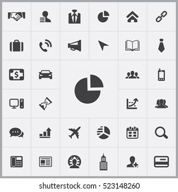 chart icon. corporate icons universal set for web and mobile
