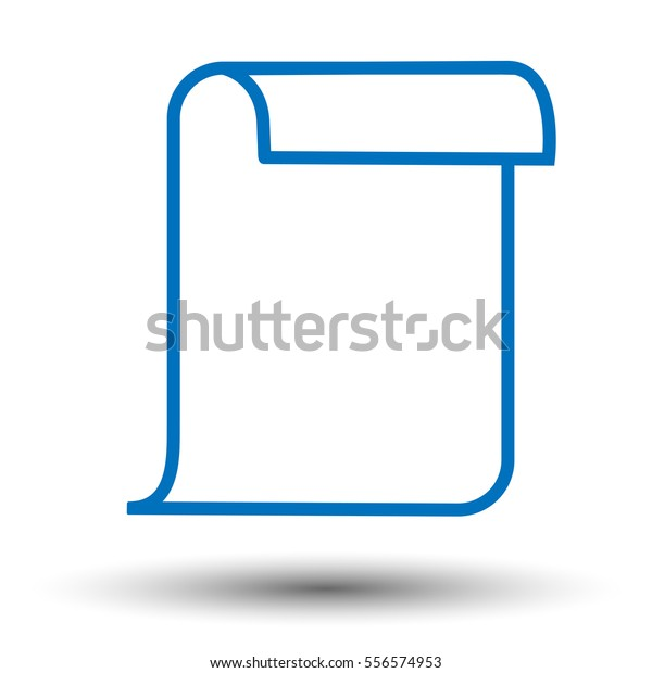 Charter Icon Flat Icon Chatter Vector Stock Vector (Royalty