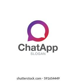 Chat app logo