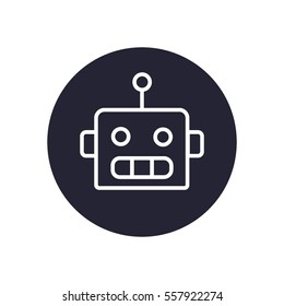 Chat bot icon