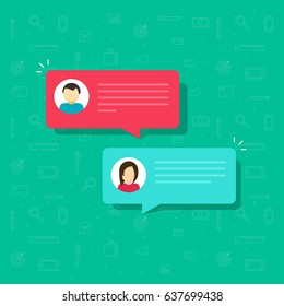 477bedd46194 Chat bubble icon vector illustration