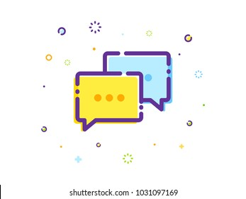 The Chat Bubble Illustration