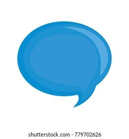 Chat bubble symbol