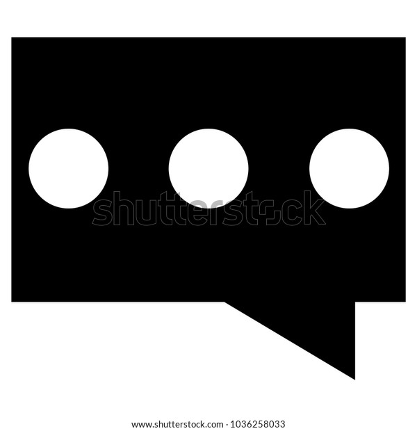 chat icon comment icon chat box stock vector royalty free 1036258033 shutterstock