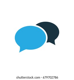 chat icon illustration isolated vector sign symbol