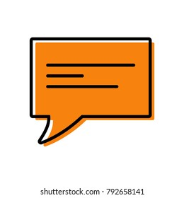 chat icon vector illustration dialog text