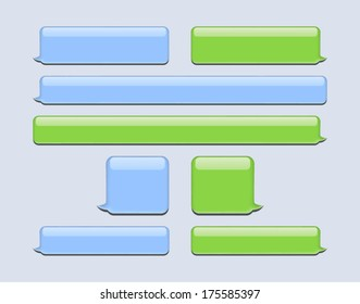 Chat or Message Bubbles
