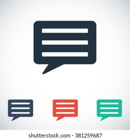 Chat sms icon