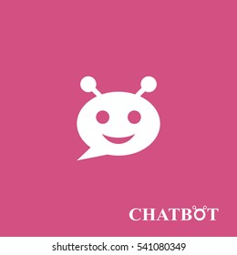 Chatbot or chatterbot icon