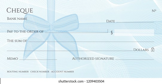 Blank Check Images, Stock Photos & Vectors | Shutterstock