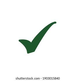 Check icon vector logo design template