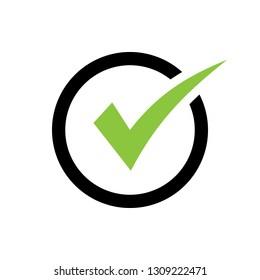check icon vector. check mark icon. check list button icon
