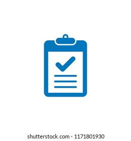 check list icon flat style