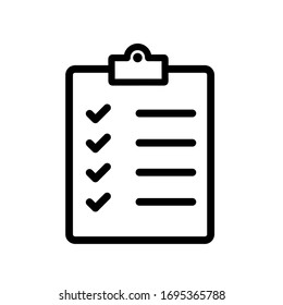 Check list icon,vector illustration. Flat design style. vector check list icon illustration isolated on White background, check list icon Eps10. check list icons graphic design vector symbols.