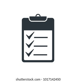 check list vector icon. check mark icon
