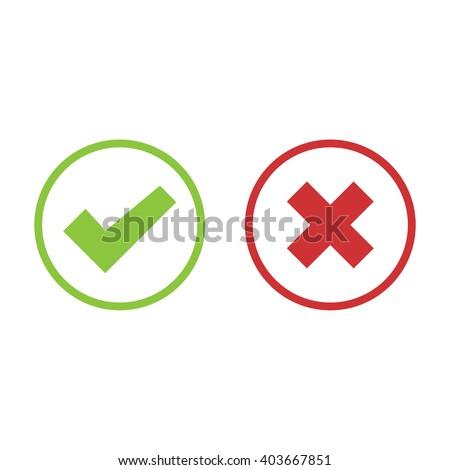 check mark icon set color vector stock vector royalty free
