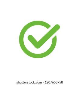 Check Mark icon symbol vector