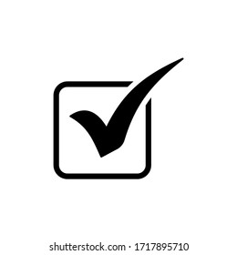 Check Mark icon symbol vector illustration