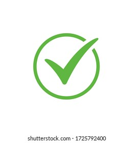 Check mark icon vector design