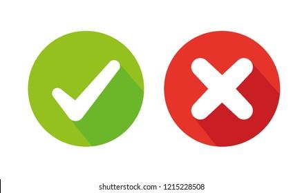 Check mark icon , vector illustration