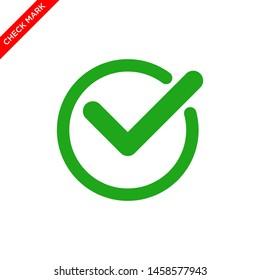 check mark icon vector logo template