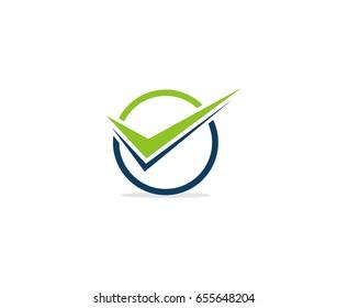 Check mark logo