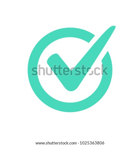 Check Mark Logo Vector Icon Tick