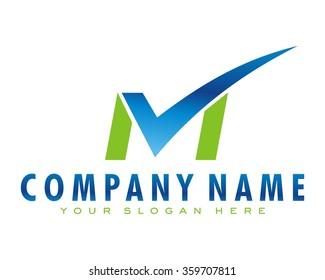 check mark paper logo icon vector