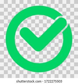 Symbol grüner haken Grüne Haken