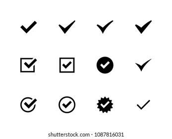 Check mark vector Icons