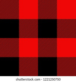 Check plaid flannel vector texture