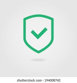 Check shield icon.